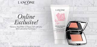 bergners bridal registry list lancome beauty fragrance bergner s