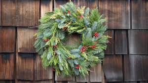 how to make a holiday wreath youtube