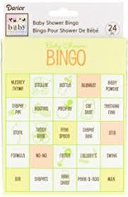 baby shower gift bingo baby shower pad gift bingo card