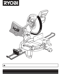 Ryobi Table Saw Manual Ryobi Saw Ts1352 User Guide Manualsonline Com