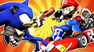 smash bros 64 battle royale battle fanon wiki mario vs sonic prank battle