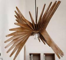 Mid Century Chandeliers Unbranded Wooden Chandeliers U0026 Ceiling Fixtures Ebay