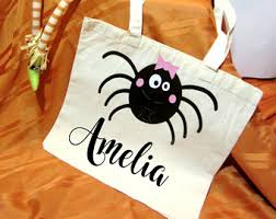 personalized trick or treat bags personalized sack bag