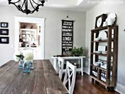 Distressed Wood Dining Room Table by Our Vintage Home Love Dining Room Table