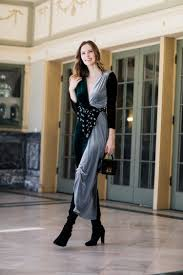 velvet dress for date night the a list a blog by alyssa campanella