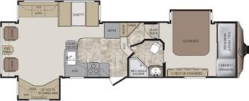 Cougar 5th Wheel Floor Plans 2012 Keystone Cougar 318sab Fifth Wheel New Carlisle Oh Colerain