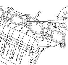 repair instructions off vehicle intake manifold cleaning and