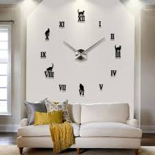 online buy wholesale 3d design wanduhr from china 3d design