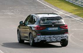 bmw x3 m drops camouflage and smiles for the camera autoguide