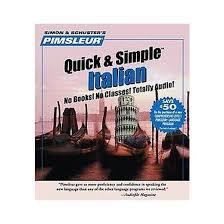 pimsluer simple italian cd spoken word pimsleur