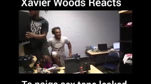 Sex Tape Meme - xavier woods reacts to paige sex tape with him in it youtube