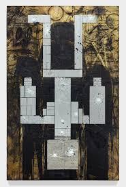 David Hammons African American Flag David Kordansky Gallery