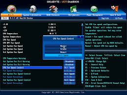 pc fan controller software bios and software gigabyte f2a88x up4 review