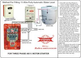 water level controller semi water level fully automatic water