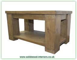 Pine Coffee Tables Uk Solid Wood Interiors Rustic Pine Coffee Table