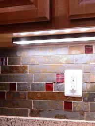 Brown Glass Tile Backsplash by Rusty Brown And Gray Color Slate Mosaic Kitchen Backsplash Tile