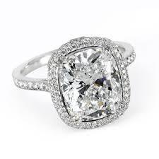Vintage Style Cushion Cut Engagement Rings Key Criteria Of Cushion Cut Diamond Engagement Rings Engagement