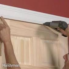 How To Hang A Cabinet Door How To Cut Off Wood Door Bottoms Family Handyman