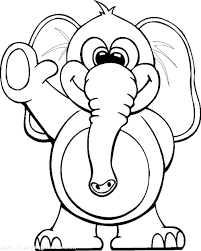 print u0026 download free elephant coloring pages