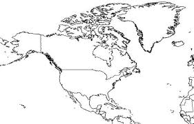 america outline map printable america blank map ngemap servicedapartments co