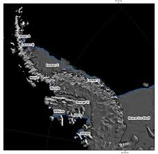 Space Debris Map Observing Glacier Change From Space