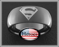 Superman Wedding Ring by Comic Noize Wedding Ring