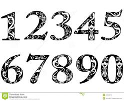 14 best images of fancy printable numbers 1 10 free fancy