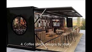 shipping container coffee shop cafe bar and restaurant youtube