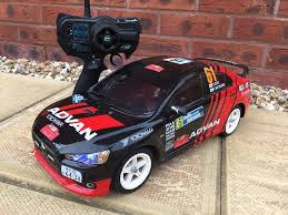 mitsubishi evo rally car tamiya rc rally car mitsubishi evolution 1 10 scale in exeter