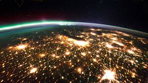 earth at night seen from space iss hd 1080p original youtube