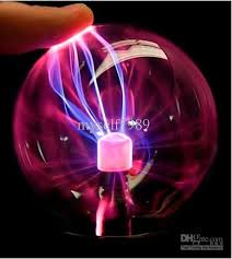 ball with light inside usb plasma ball light lightning sphere party usb operated