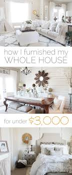 how i furnished my house for 3000 house decorating and