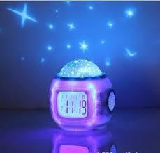 best light up alarm clock star light l light up gift alarm clock table l lshade touch
