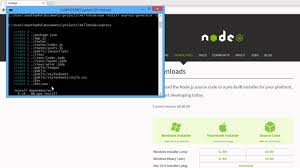 node js quick tutorial quick start to express node js tutorial 1 youtube