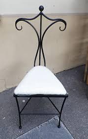 chambre fer forgé valet de chambre fer forgé la chaise valet de nuit