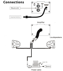 boss audio mc420b bluetooth enabled motorcycle utv speaker and