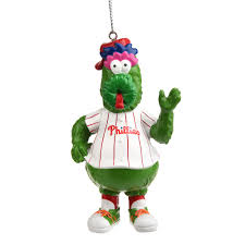 collectibles philadelphia phillies phillie phanatic christmas ornament