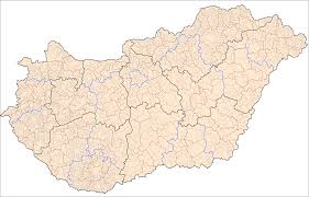 Romania Blank Map by Hungary Administrative Divisions U2022 Mapsof Net