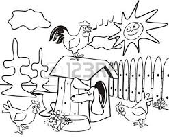 farm coloring book royalty free cliparts vectors stock