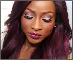 black women with purple hair hair color ideas for dark skin