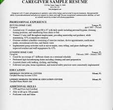 Additional Information On Resume Lofty Design Caregiver Resume Sample 2 Caregiver Resume Sample