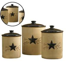 ceramic kitchen canister set 3 dolomite hand painted design
