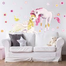wall decal mia and me unicorns onchao and lyria