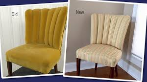 reupholstering a channel back fluted back chair youtube