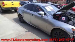 lexus is 250 y pipe parting out 2014 lexus is 250 stock 5070rd tls auto recycling