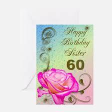 60 year birthday card 60 year birthday greeting cards cafepress