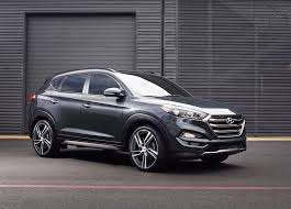 hyundai tucson 2016 grey arcan anthracite diamond professional alloy wheels for hyundai