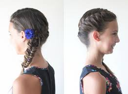 cute girl hairstyles how to french braid 10 cute little girl hairstyles ma nouvelle mode