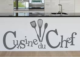 sticker cuisine stickers cuisine du chef original par design