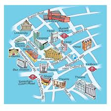 London Maps Simple London Map Deboomfotografie